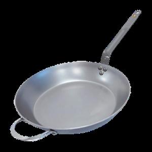 De Buyer Mineral B Round Carbon Steel Fry Pan 300x300